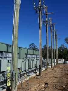 diesel power station relocation project
