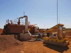 BHP Ore Body 35 Stand Pipe Solar Station